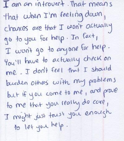 Introvert Help