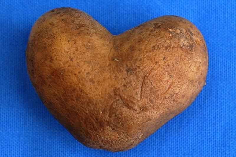 Potato Heart by Lars Schmidt: https://www.flickr.com/photos/32567870@N00/432565041/