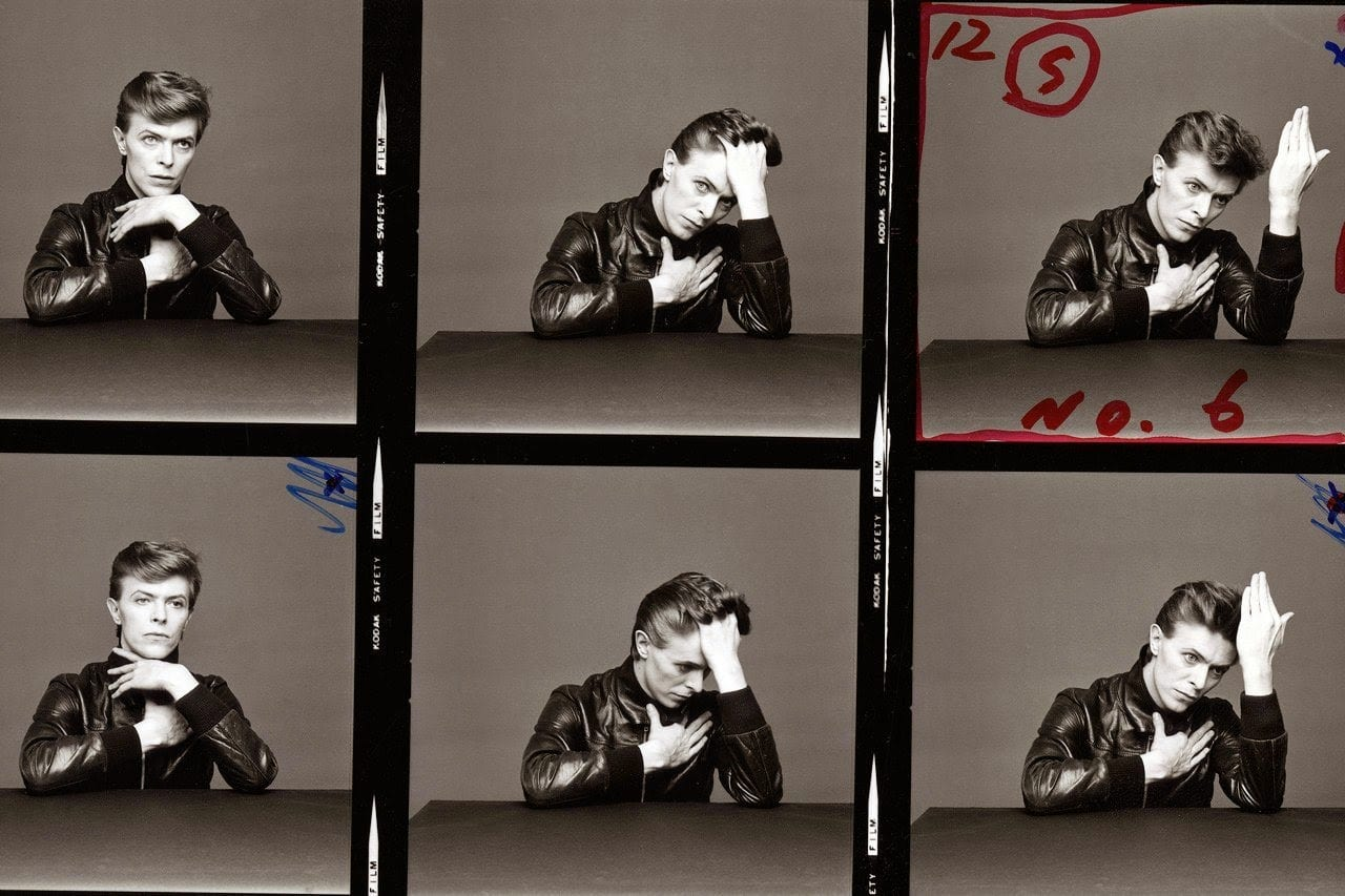The Outtakes of David Bowie's Iconic _Heroes_ Album Cover Shoot (1)