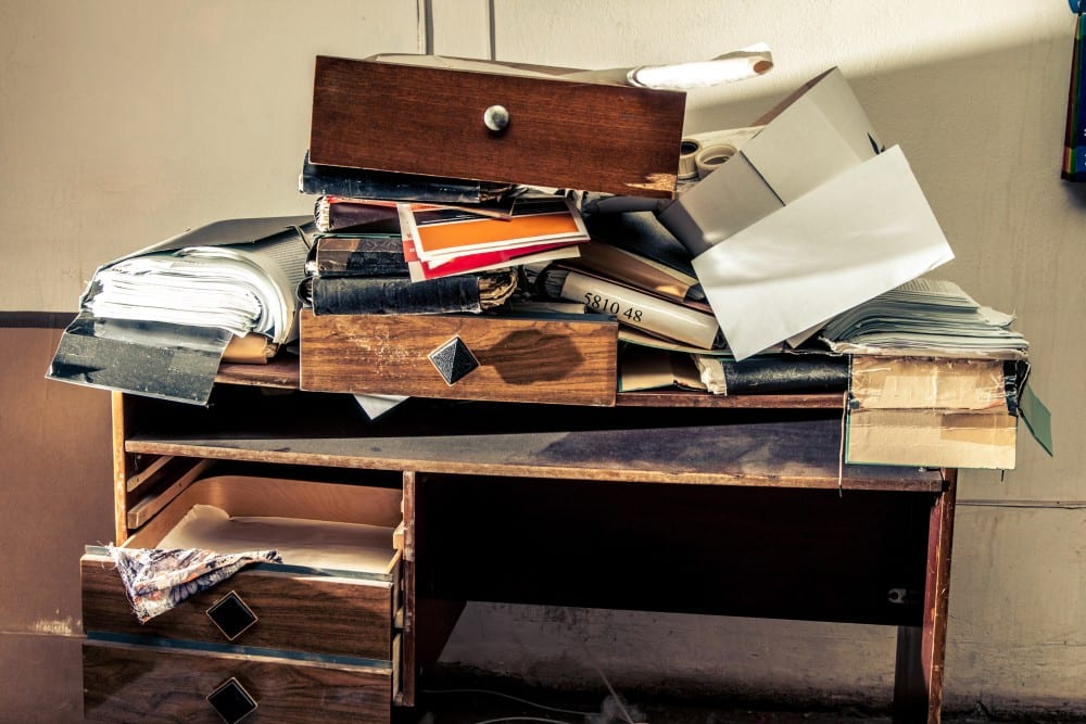 Never Ending Clutter